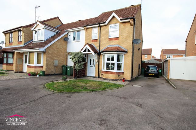Thumbnail Semi-detached house for sale in Acacia Close, Leicester Forest East, Leicester
