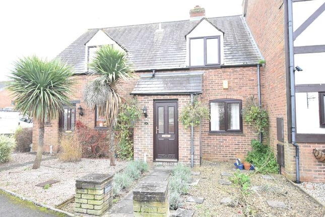 Thumbnail Terraced house for sale in The Lankets, Badsey, Evesham