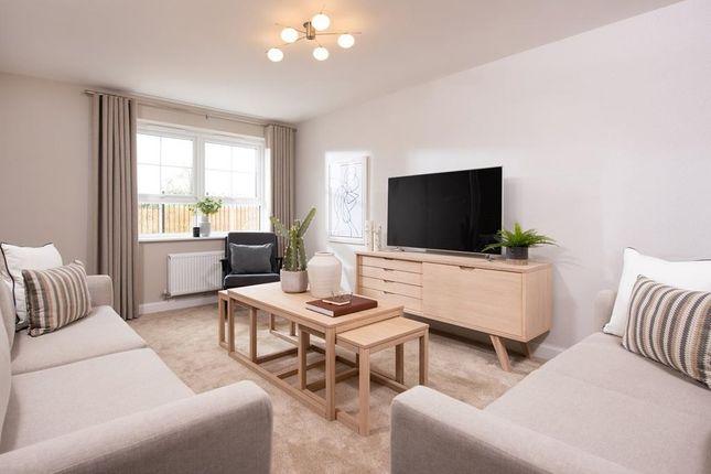 "Thumbnail Semi-detached house for sale in ""Kington"" at Stubby Lane, Cheddon Fitzpaine, Taunton"
