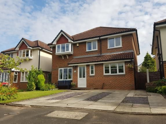 Thumbnail Detached house for sale in Yeoford Drive, Altrincham, Greater Manchester