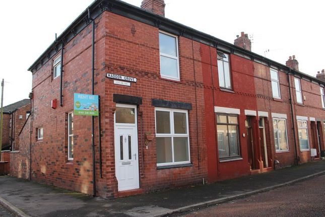 Thumbnail Terraced house to rent in Haddon Grove, Stockport