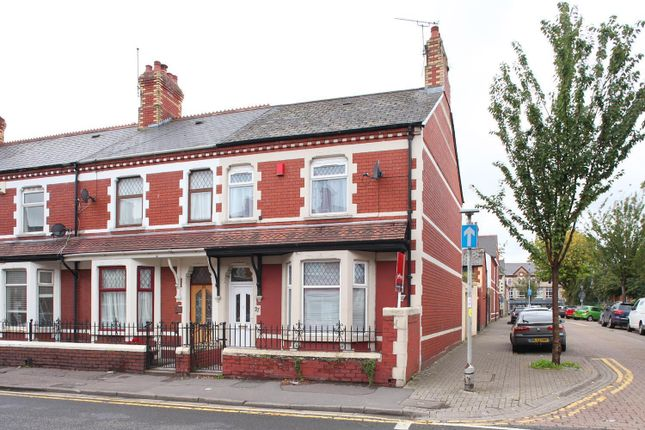 Thumbnail 3 bed end terrace house to rent in Llandaff Road, Canton, Cardiff