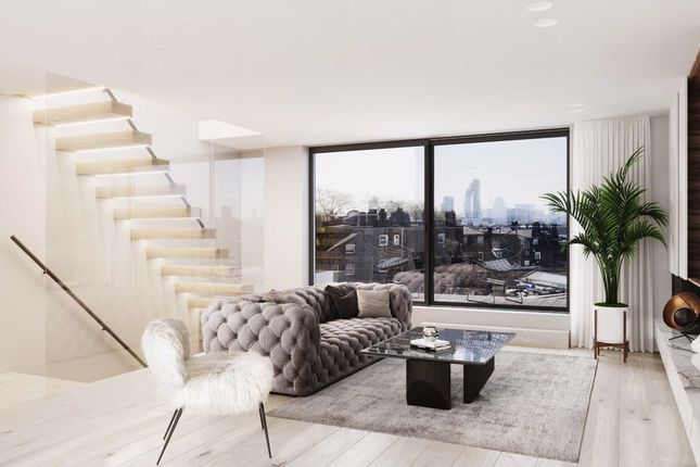 Thumbnail Flat for sale in Oscar Faber Place, St. Peter's Way, London