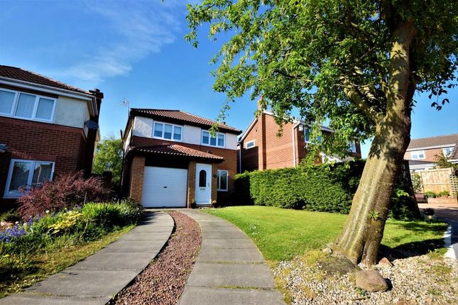 Thumbnail Detached house for sale in Brougham Court, Oakerside Park, Peterlee, County Durham