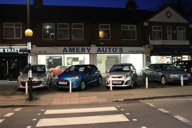 Thumbnail Retail premises for sale in 159-161 Billet Lane, Hornchurch, Essex