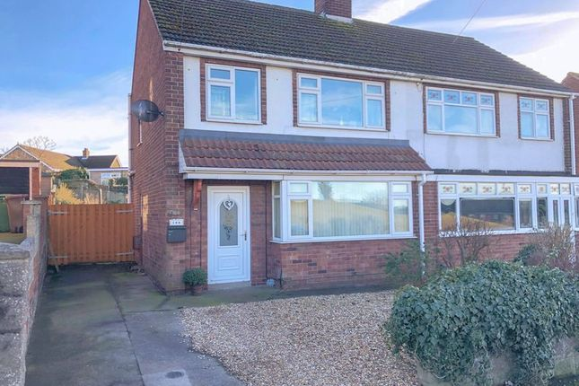 Thumbnail Semi-detached house for sale in Enderby Road, Scunthorpe
