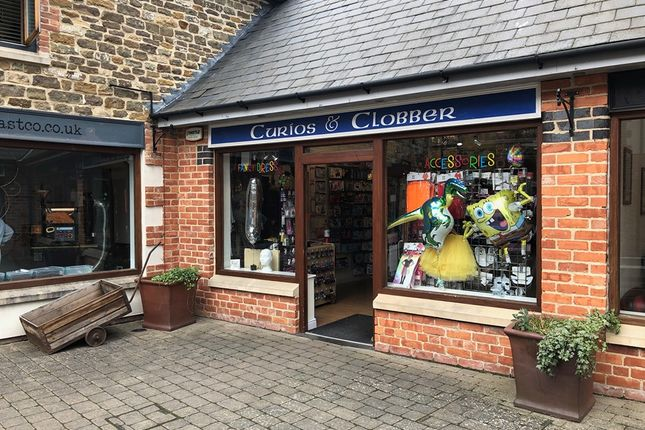 Thumbnail Retail premises for sale in Gaol Street, Oakham