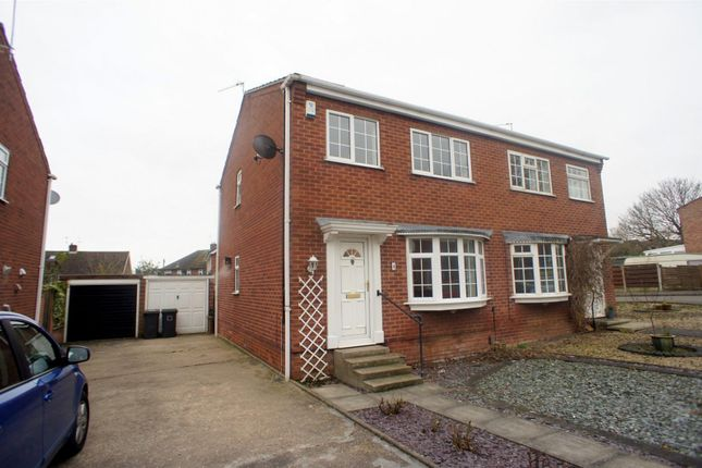 Thumbnail Semi-detached house to rent in Sunlea Crescent, Stapleford, Nottingham