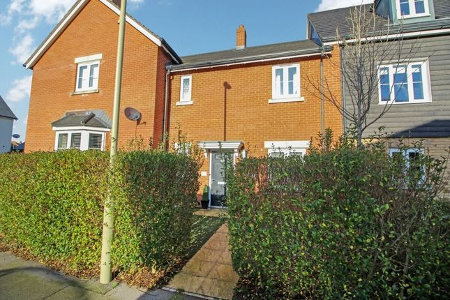 3 bed terraced house to rent in Quicksilver Way, Andover SP11