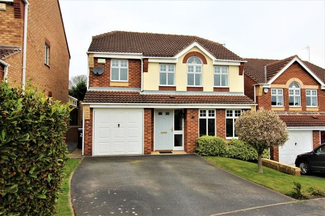 Thumbnail Detached house for sale in Rother Croft, Hoyland, Barnsley