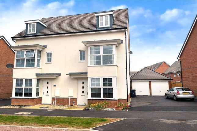 Thumbnail Semi-detached house for sale in Ernest Fitches Way, Littlehampton