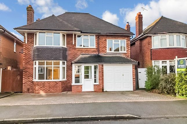 Thumbnail Detached house for sale in Marchmount Road, Wylde Green, Sutton Coldfield