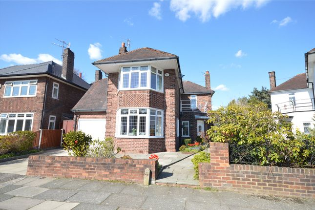 Thumbnail Detached house for sale in Fawley Road, Calderstones, Liverpool