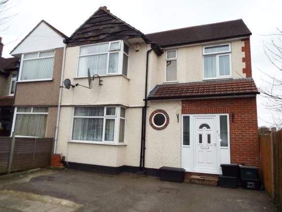 Thumbnail End terrace house for sale in Hainault, Ilford, Essex