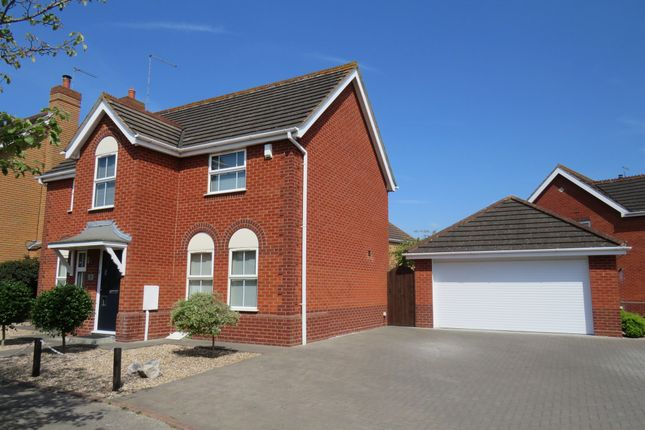 Thumbnail Detached house for sale in Longmeadow, Wootton, Northampton