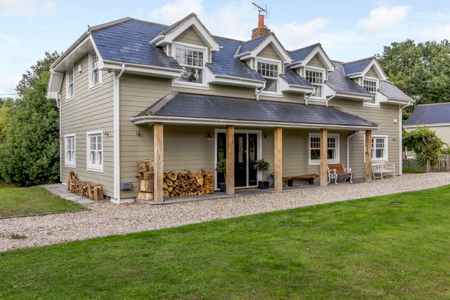 Thumbnail Detached house for sale in Wood Edge, Main Road, Chelmsford, Essex