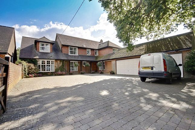 Thumbnail Detached house for sale in Adlams Lane, Sway, Lymington, Hampshire