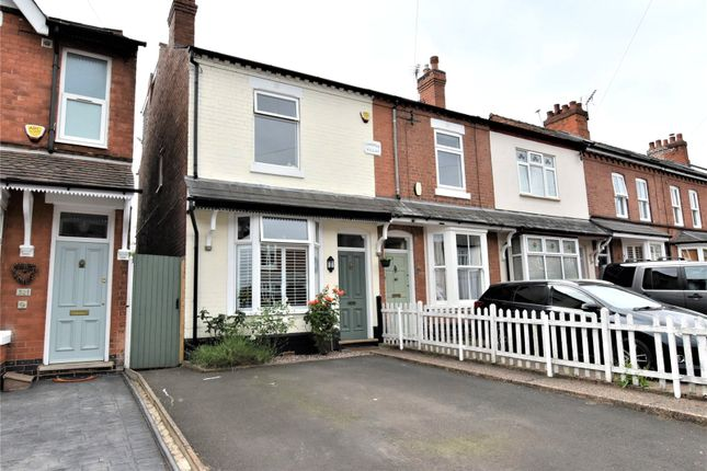 Thumbnail End terrace house for sale in Franklin Road, Birmingham, West Midlands
