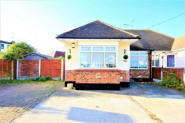 Thumbnail Property for sale in Elderstep Avenue, Canvey Island, Essex