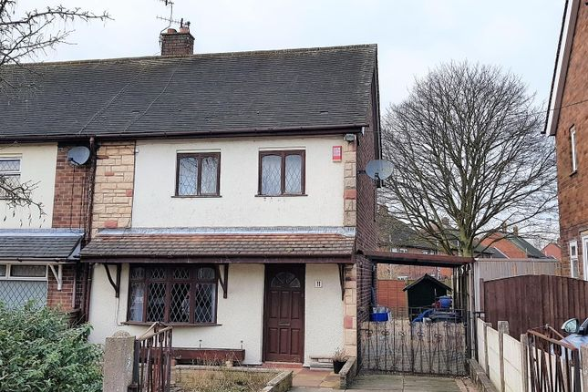 Thumbnail Semi-detached house for sale in Yateley Close, Stoke-On-Trent, Staffordshire