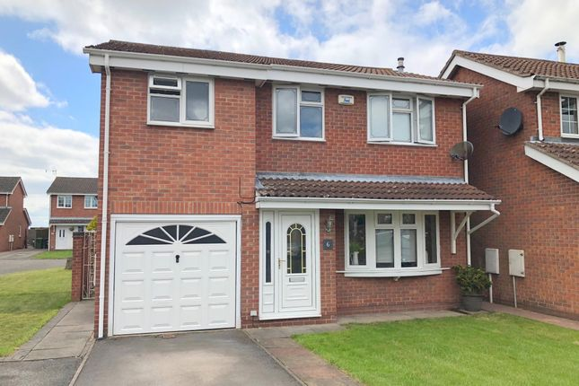 Thumbnail Detached house for sale in Nightingale Close, Ripley