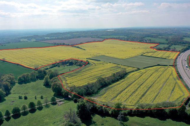 Thumbnail Land for sale in Lenham, North Downs, Kent
