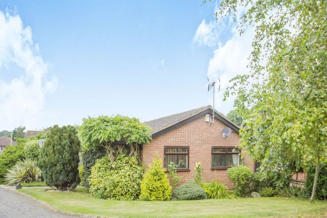 Thumbnail Detached bungalow for sale in Sharpley Drive, Anstey Heights, Leicester