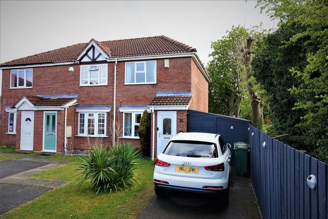 2 bed town house for sale in Cranstone Crescent, Glenfield, Leicester LE3