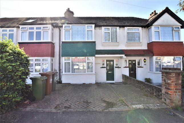 Thumbnail Terraced house for sale in Poulton Avenue, Sutton, Surrey