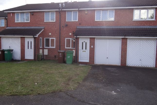 Thumbnail Terraced house to rent in Heron Drive, Lenton, Nottingham