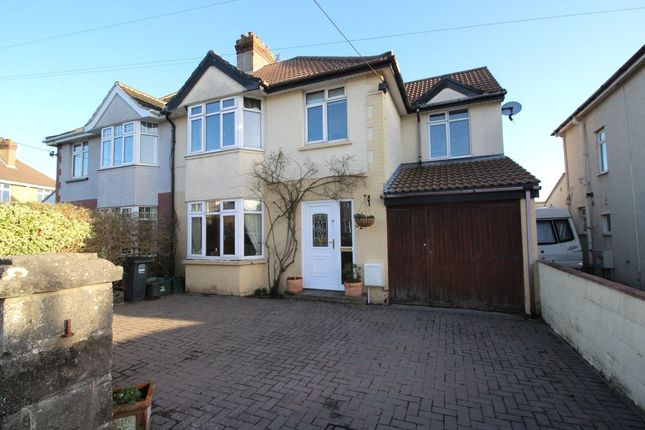 Thumbnail Semi-detached house for sale in Coleridge Vale Road North, Clevedon