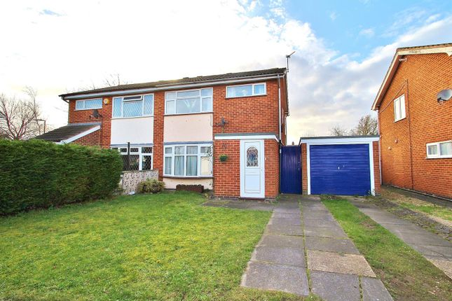 Thumbnail Semi-detached house for sale in The Meadows, East Goscote, Leicestershire