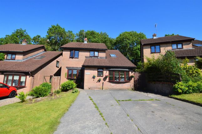 Thumbnail Detached house for sale in The Hollies, Brynsadler, Pontyclun