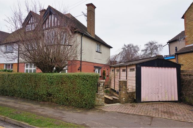 Thumbnail Semi-detached house for sale in Court Road, Caterham