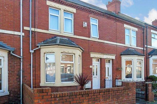 Thumbnail Terraced house to rent in Newbiggin Road, Ashington
