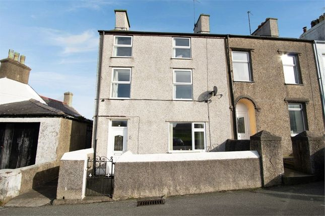 Thumbnail End terrace house for sale in Porthyfelin, Porthyfelin, Holyhead, Anglesey