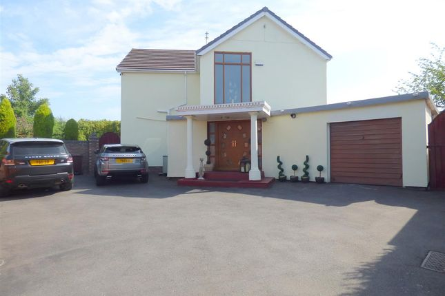Thumbnail Detached house for sale in The Poplars, Wheathill Road, Huyton, Liverpool