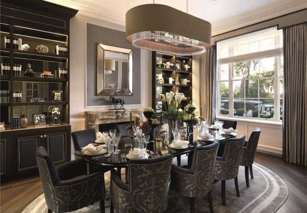 Dining Room of Chester Square, Belgravia, London SW1W