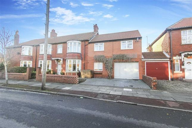 5 bed semi-detached house for sale in Queens Road, Whitley Bay, Tyne And Wear
