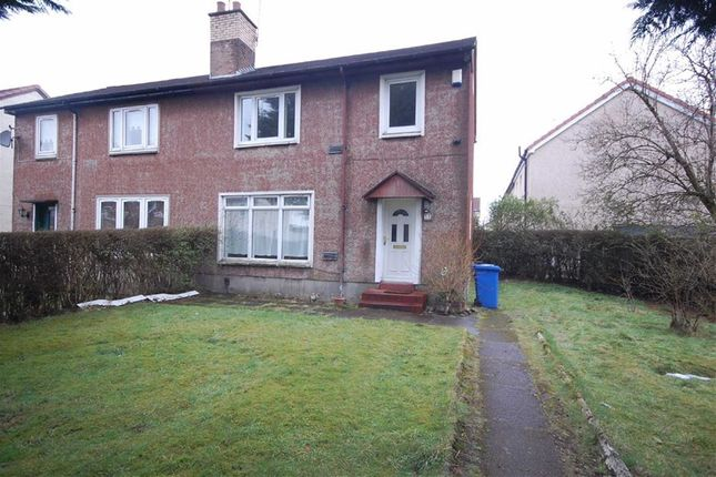 Thumbnail Semi-detached house for sale in Webster Street, Clydebank