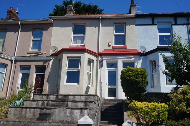 Thumbnail Terraced house for sale in Edgar Terrace, Plymouth