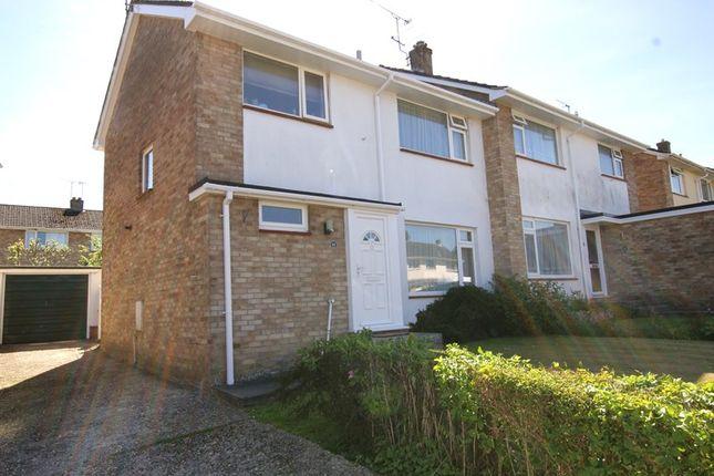 Thumbnail Semi-detached house to rent in Phelipps Road, Corfe Mullen, Wimborne, Dorset