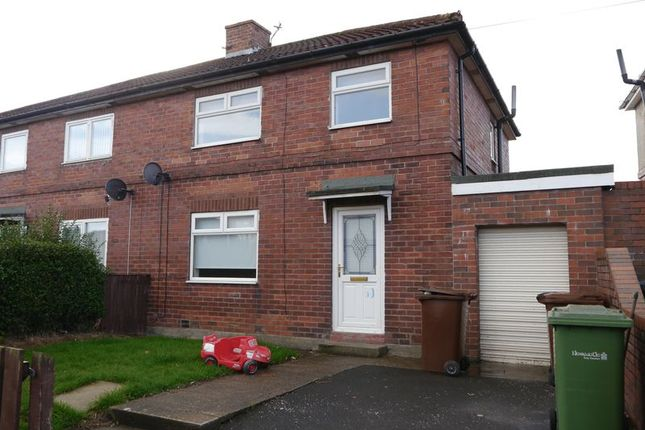 Thumbnail Semi-detached house to rent in Westway, Throckley, Newcastle Upon Tyne
