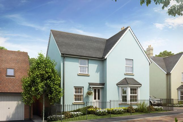 "Thumbnail Detached house for sale in ""Cambridge"" at Bevans Lane, Pontrhydyrun, Cwmbran"