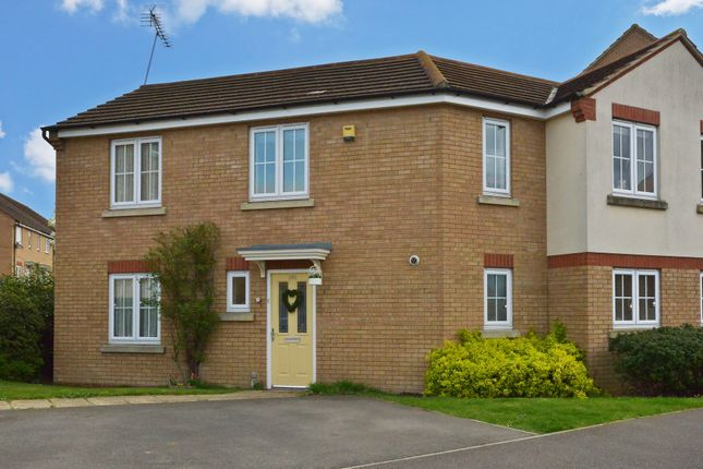 Thumbnail End terrace house for sale in Cooper Drive, Leighton Buzzard