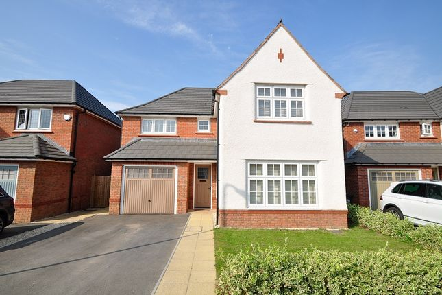 Thumbnail Detached house to rent in Old Park Road, Bassaleg, Newport