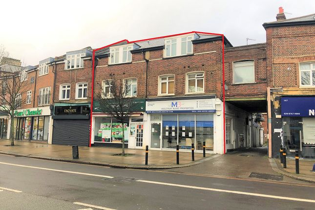 Thumbnail Commercial property for sale in 163A - 165 Mitcham Road, Tooting, London