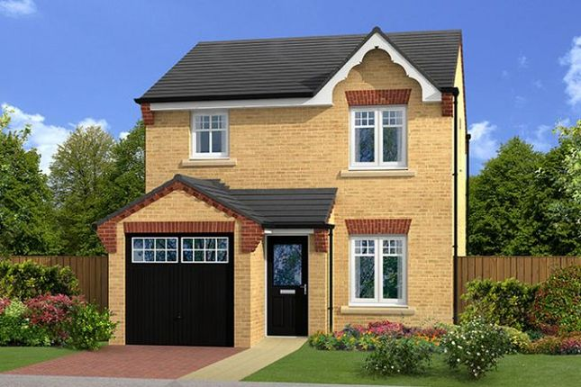 "Thumbnail Detached house for sale in ""Alderton"" at Heritage Green, Rother Way, Chesterfield"