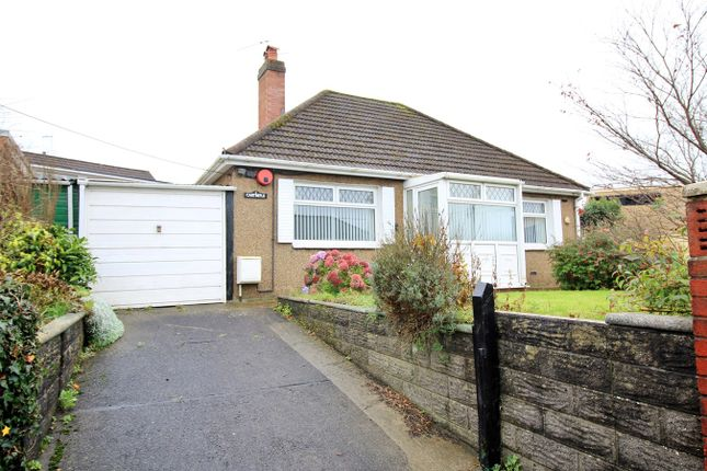 Thumbnail Detached bungalow for sale in Lon Maes Yr Haf, Oakdale, Newport