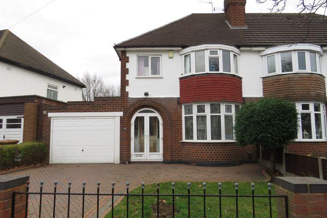 Semi-detached house in  Delves Crescent  Walsall  Birmingham